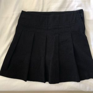Girls pleated black skirt from Children's Place